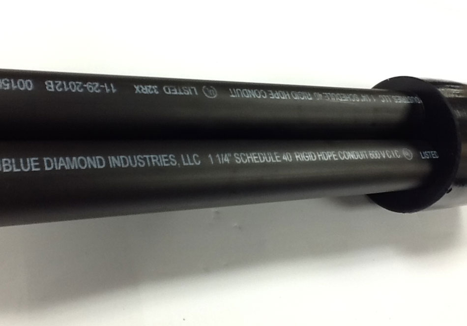 With its tensile strength and friction and crush resistance BDI HDPE is Underwriters Lab listed for power applications.